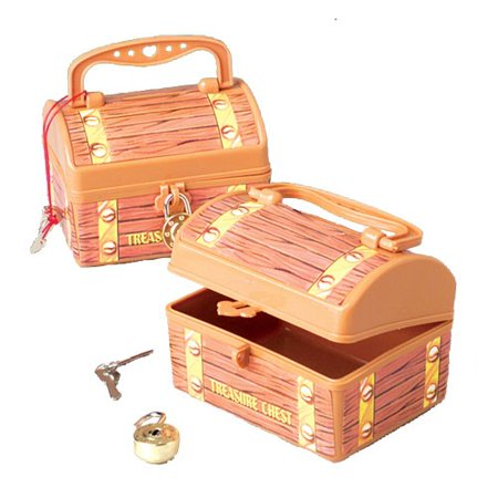 US TOY MU130 Pirate Treasure Chest Savings Banks (Treasure Chest Gift Box)