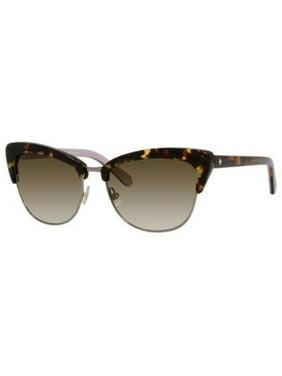 3561528186415 Product Image Kate Spade Sunglasses GENETTE S 0W96 Tortoise Pink