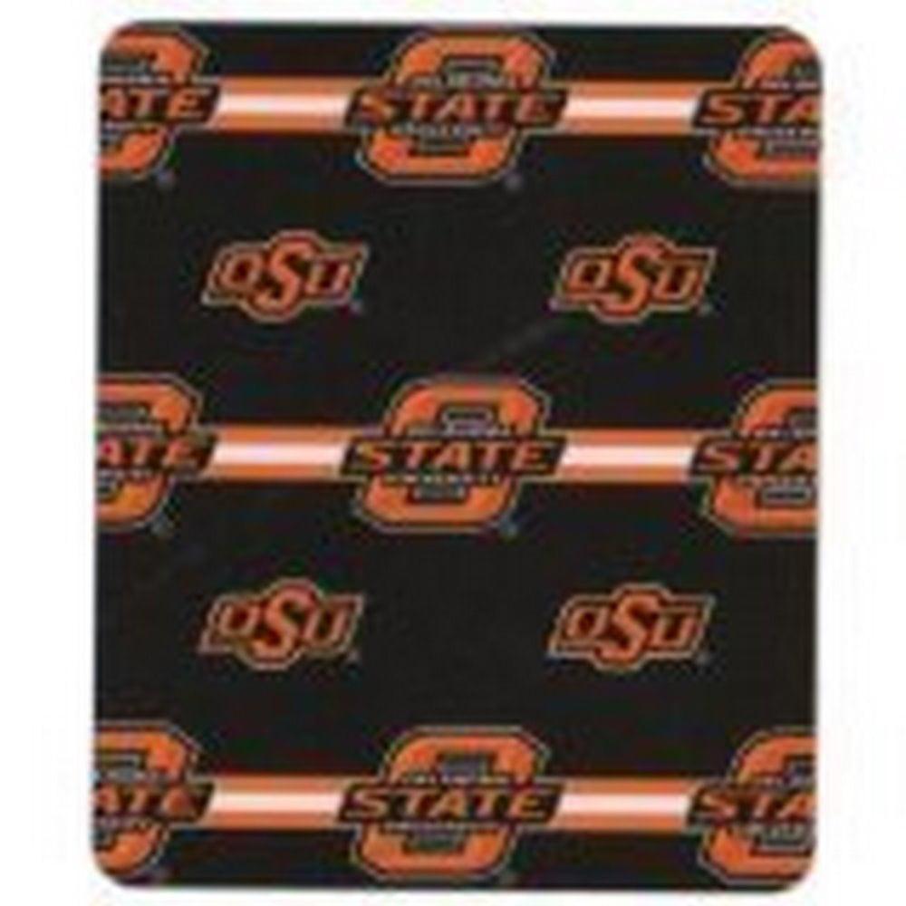 NCAA Officially Licensed 3 Bar Fleece Throw Blanket