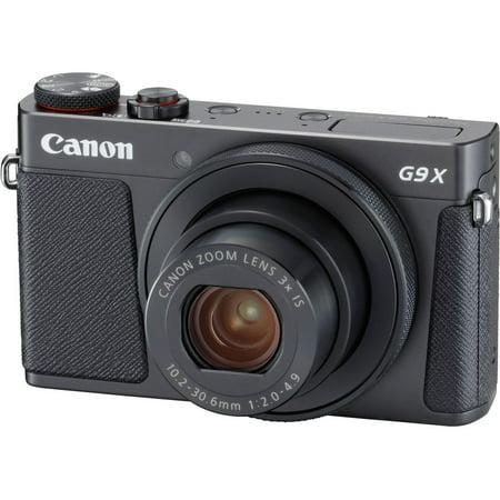 Canon PowerShot G9 X Mark II Digital Camera (Black) 1717C001