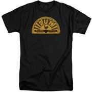 Sun Records Traditional Logo Mens Big and Tall Shirt