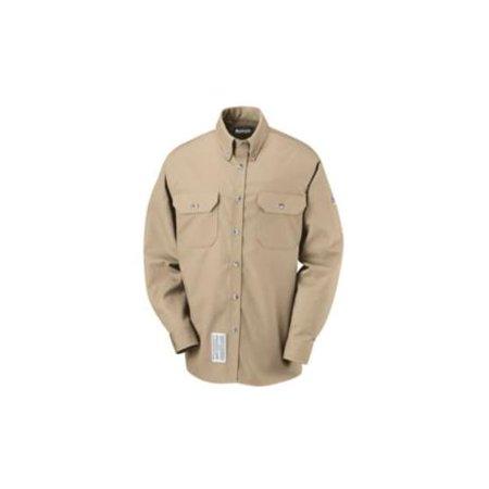 Bulwark FR Khaki Dress Uniform Shirt