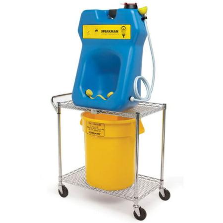 portable eyewash wash eye cart station speakman gallon se stations transportation showers cartridge emergency safety ferguson spout ansi drip drum