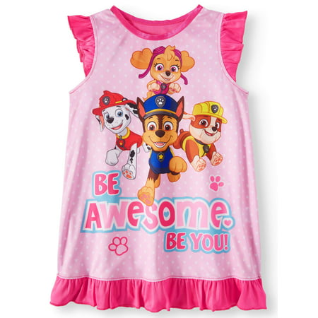 Paw Patrol Paw patrol poly sleep gown (toddler girls) (Girls Sleep Gown)