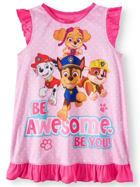 Paw Patrol Paw patrol poly sleep gown (toddler girls)