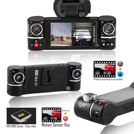 Indigi 2017 HD Dash Cam DVR @ 30fps + 2.7