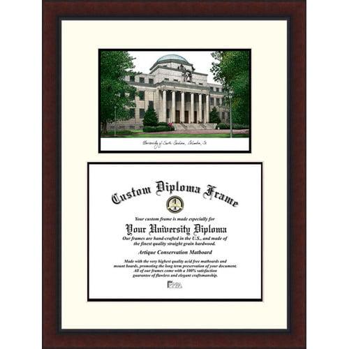 "University of South Carolina 14"" x 11"" Legacy Scholar Diploma Frame"