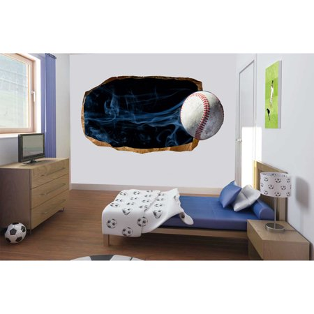 startonight 3d mural wall art photo decor baseball amazing