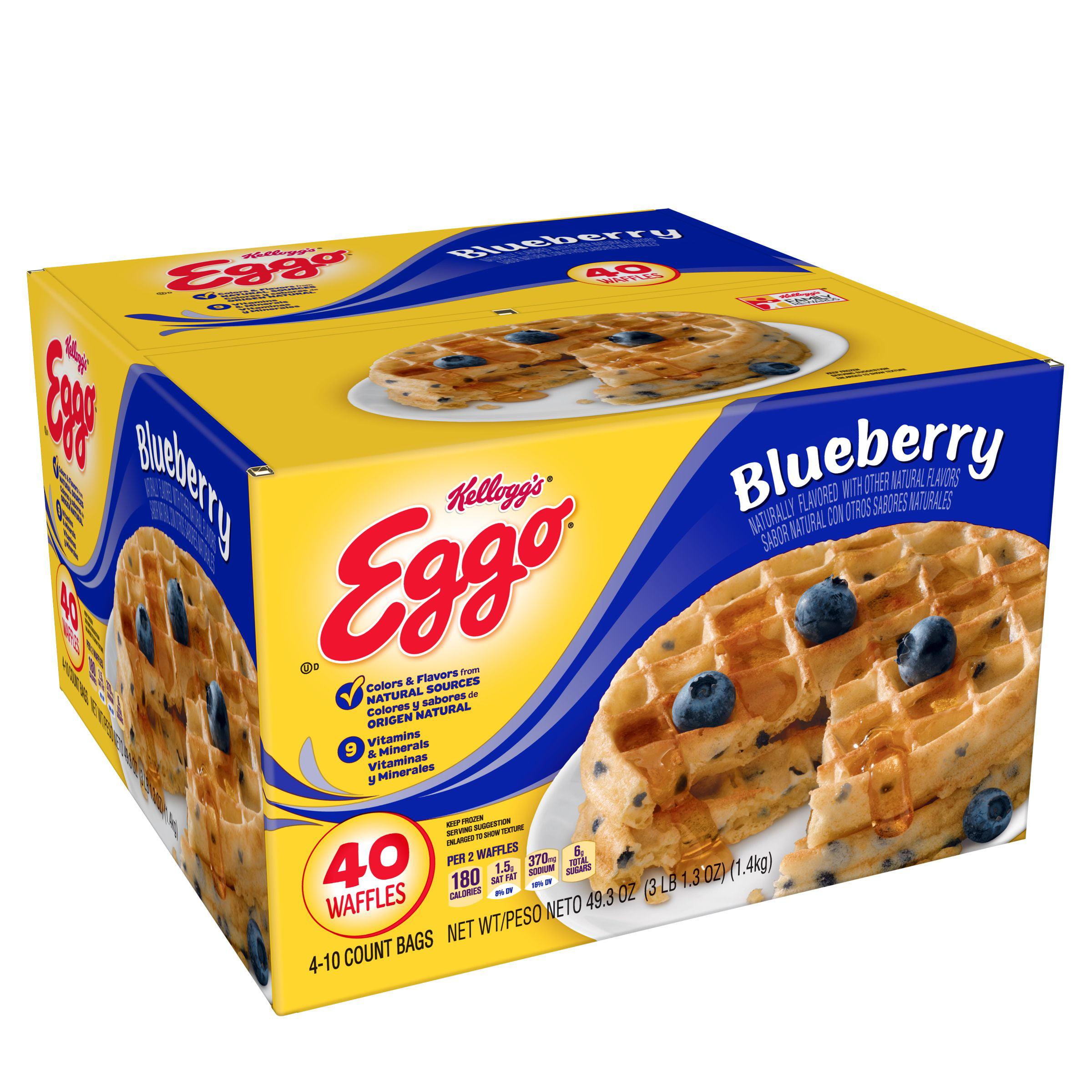 Eggo Waffle 40ct Blueberry