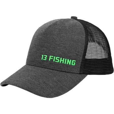 13 Men's Fishing Butterdome Snapback Hat Grey One Size thumbnail