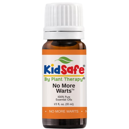 No Hydrogenated Oils (Plant Therapy No More Warts Essential Oil Blend | 100% Pure, KidSafe, Undiluted, Natural Aromatherapy | 10 mL (1/3 oz) )