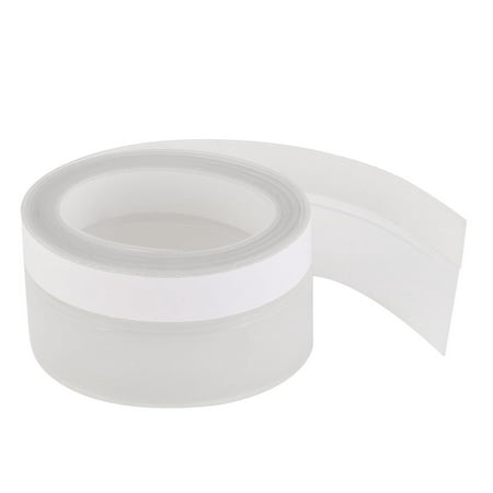 Weather Stripping Silicone Door Seal Stopper Clear 6.6 Ft Length,1.8 Inch Width ()