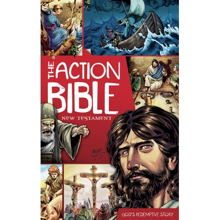 The Action Bible: New Testament: God's Redemptive Story (Halloween Action Stories)