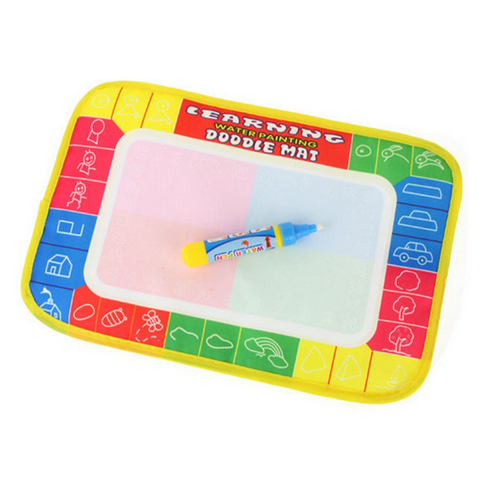 Baby Toy,Amyline New Water Drawing Painting Writing Mat Board Magic Pen Doodle Toy Gift 29 x 19cm