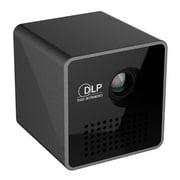 Portable Pocket Projector,LPD Cube Mini Projector Portable Pocket Projector HD Video Pico