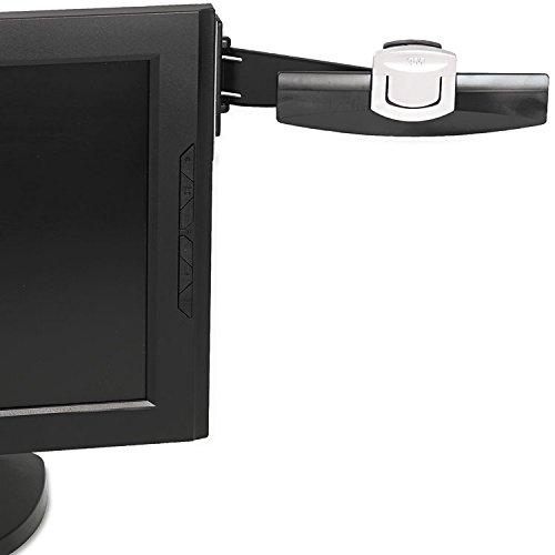 Document Clip DH240MB - Copy holder - black, silver, 3M M...