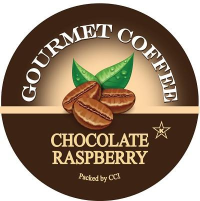 Chocolate Raspberry Flavored Coffee, Single Serve Cups for Keurig K-cup Brewers, 24 Count