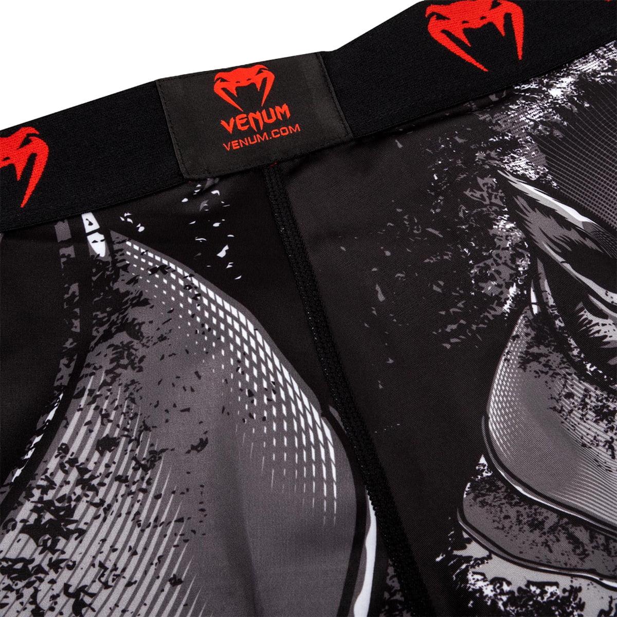 Venum Mens Werewolf Vale TUDO Shorts MMA BJJ Black//Grey VENUM-03340-109-XL