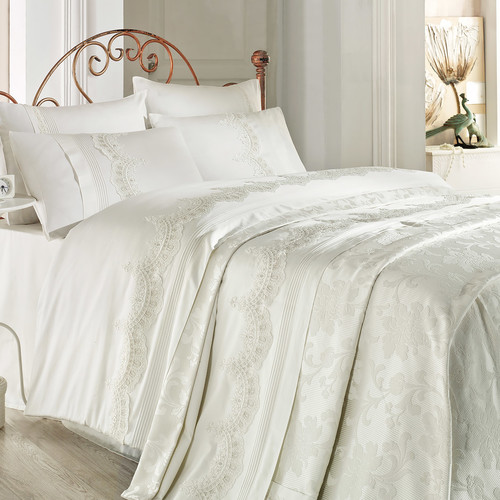 Debage Inc. City Sleep Doro 7 Piece Queen Duvet Cover Set