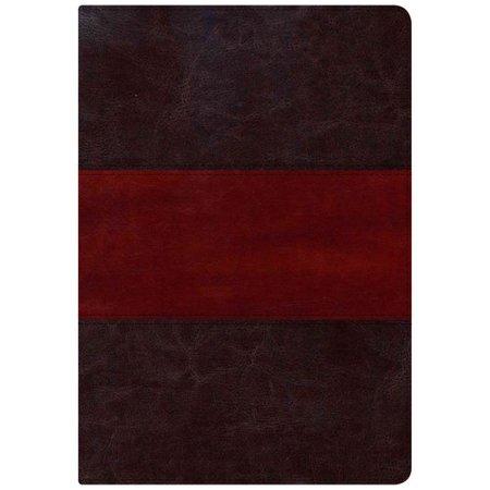 Holman KJV Study Bible: King James Version, Study, Saddle Brown, LeatherTouch, Full-Color by