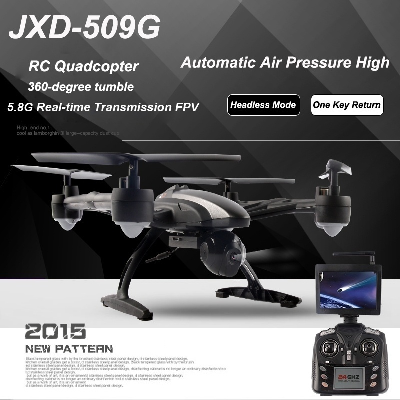 U-MAX JXD 509G RC Quadcopter Drone 5.8G FPV with 2.0MP HD Camera Automatic Air Pressure... by