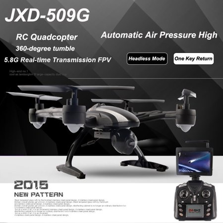 U-MAX JXD 509G RC Quadcopter Drone 5.8G FPV with 2.0MP HD Camera Automatic Air Pressure High Headless Mode One Key Return