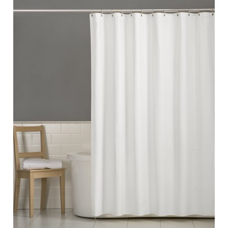 Mainstays Water Repellent Fabric Shower Curtain Or Liner 72 X