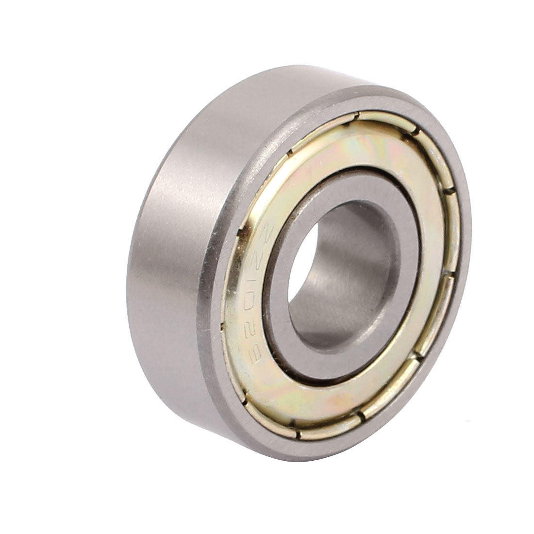Metal Deep Groove Sealed Shielded Ball Bearing 12mmx32mmx10mm Silver Tone - image 2 of 2
