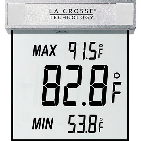 La Crosse Technology Ws 1025 Window Outdoor Thermometer