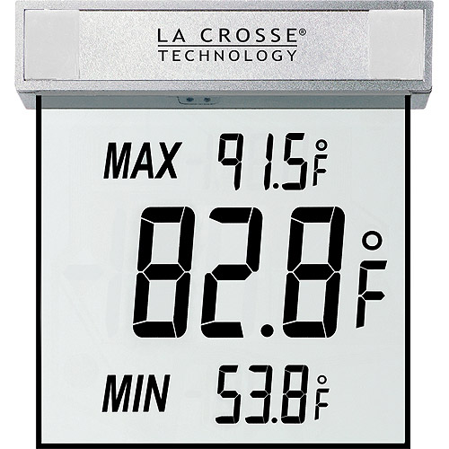 La Crosse Technology WS-1025 Window Outdoor Thermometer