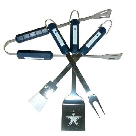 NFL Dallas Cowboys Tailgaters 4-piece BBQ Grill Tool Set