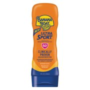 Banana Boat Ultra Sport Sunscreen Lotion SPF 50+, 8 Oz