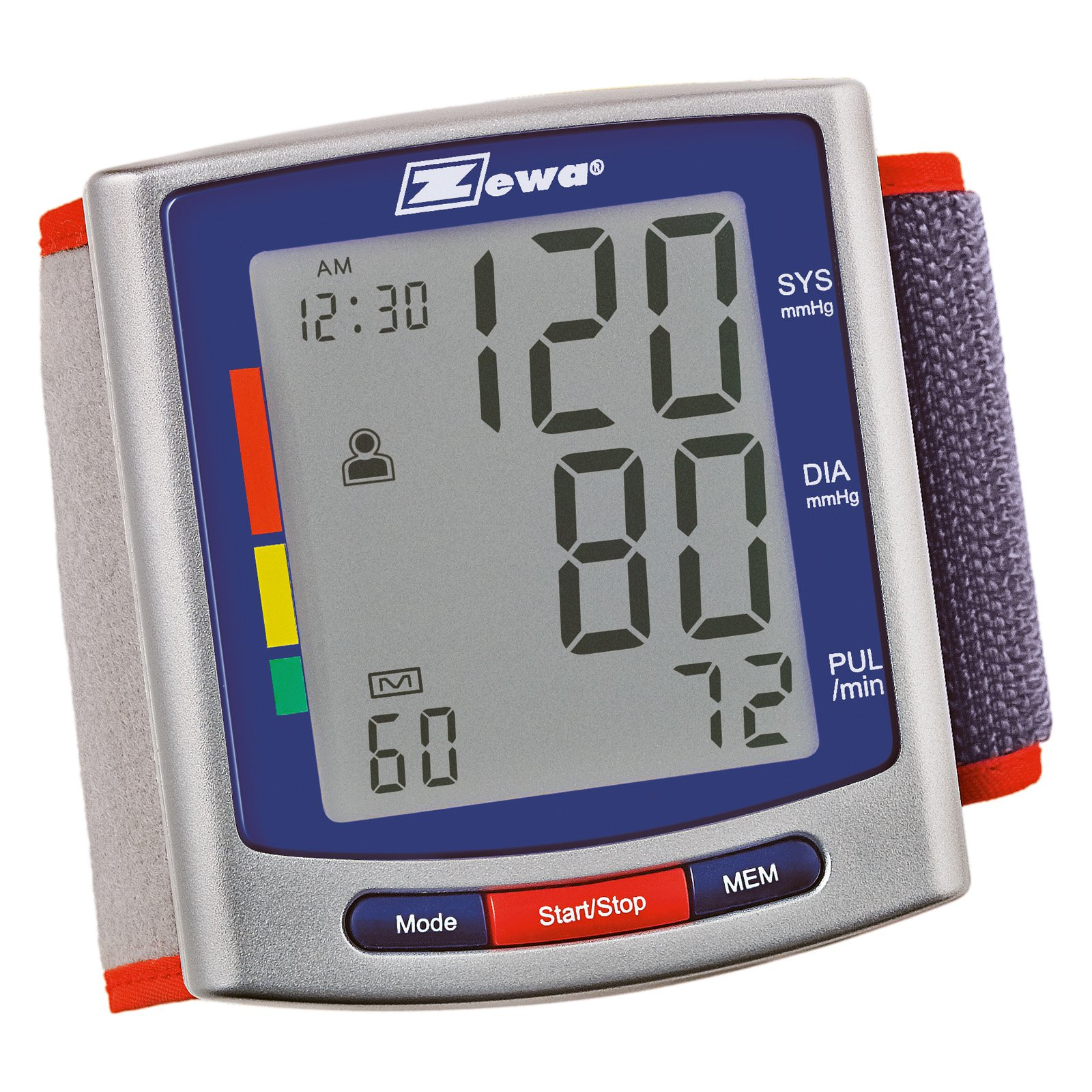 Zewa Wrist Model Blood Pressure Monitor, 1ct