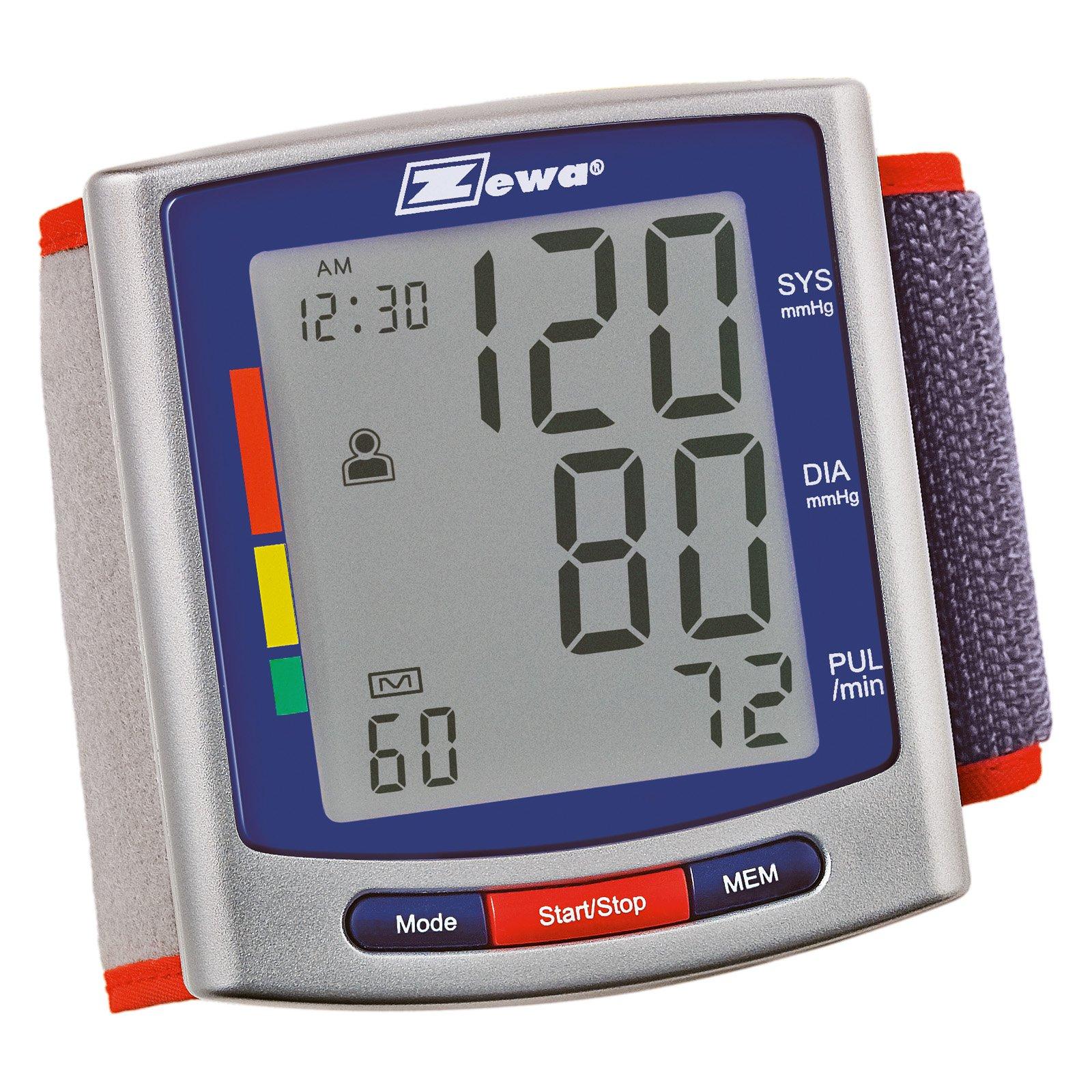 Zewa Wrist Model Blood Pressure Monitor, 1ct