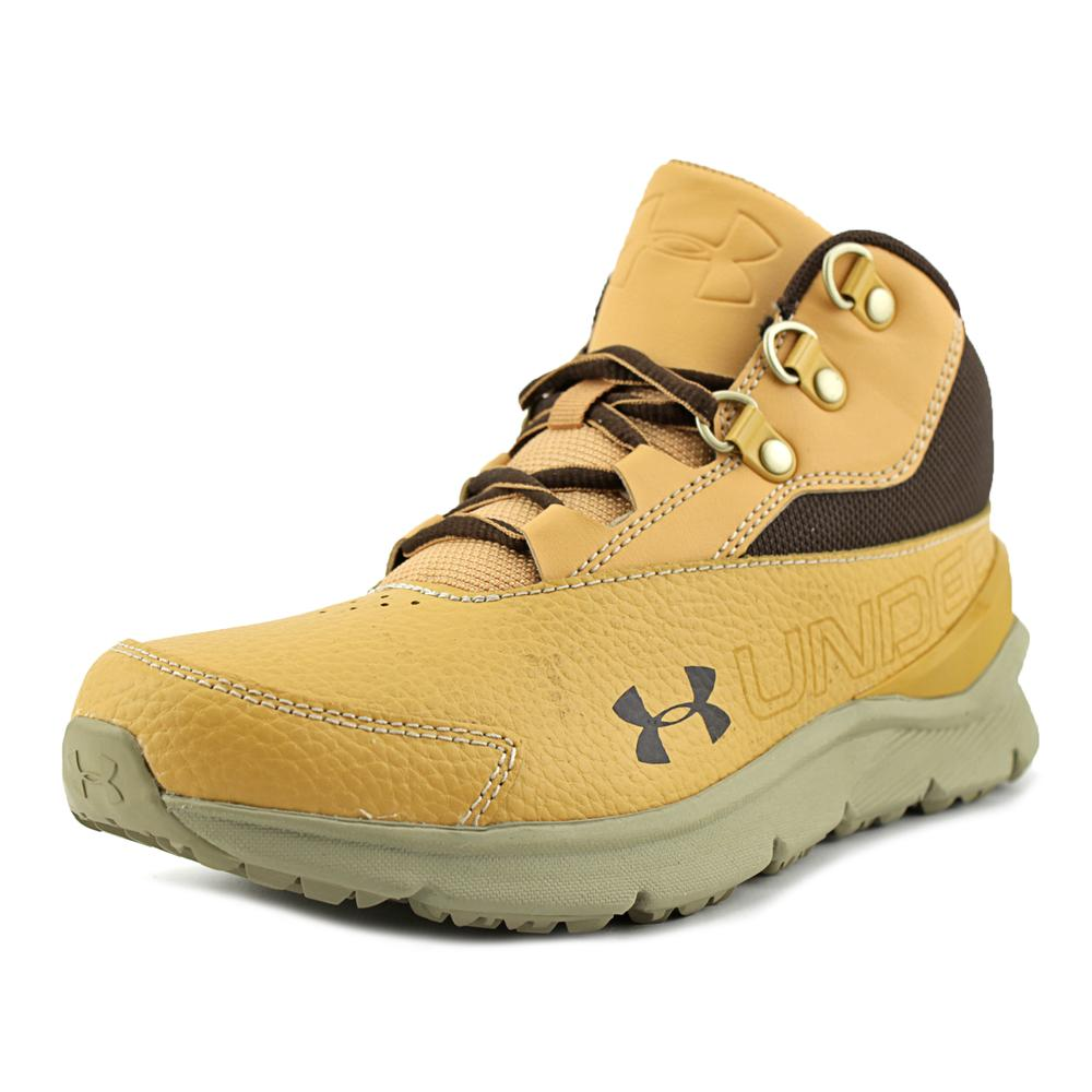 Under Armour BGS Overdrive Mid 2 TL   Round Toe Leather  ...