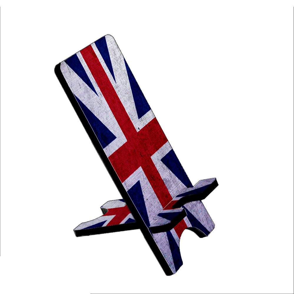 Union Jack - KuzmarK Folding Stand fits iPad Mini iPhone Samsung Galaxy