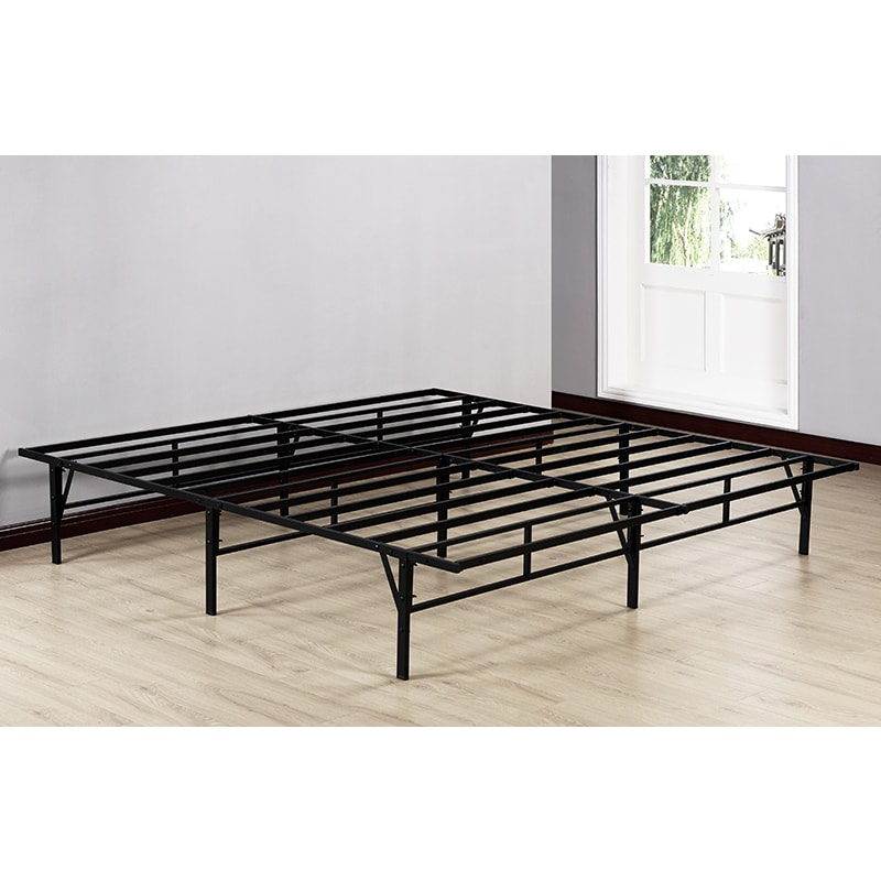 K And B Furniture Co Inc Kb Black Metal 80 Inch X 76 Inch X 14 Inch