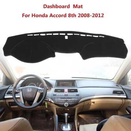 Car Interior Dashboard Mats Sun Visor Cover Dashmat Sunscreen dustproofcover Shading Pad For Honda Accord 8th