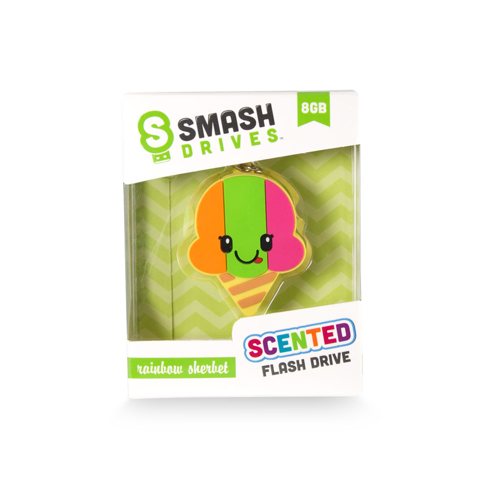 Scentco Rainbow Sherbet Smash Drive - 8GB Gourmet Scented Flash Drives