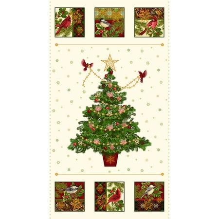 Clearance Sale~Holiday Flair Christmas Panel 24