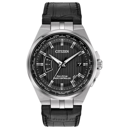 1g Watch - CB0160-00E World Perpetual A-T Men's Watch Black 42mm Stainless Steel