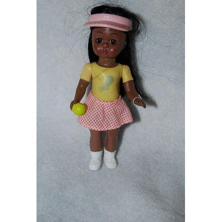 Madame Alexander Ships (McDonalds 2005 Tennis Girl African American #10, By Madame Alexander Ship from US )