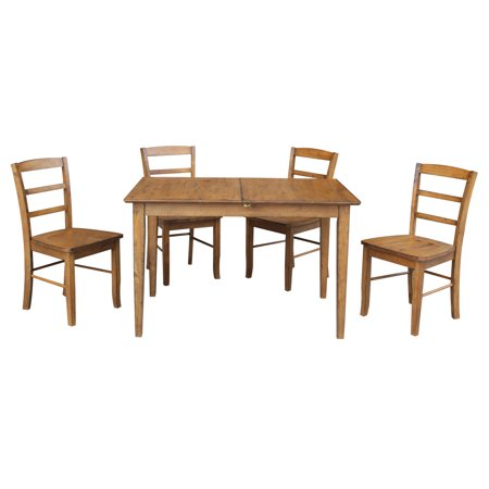 Butterfly Extension Table Set (Dining Table with 12