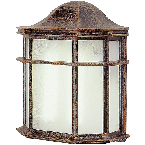 "BelAire Patio Pocket 10"" Outdoor Light, Rust"