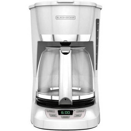 BLACK+DECKER 12-Cup Programmable Coffee Maker, CM1060W