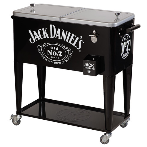 Jack Daniel's Lifestyle Products 80 Qt. Rolling Cooler