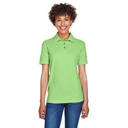 8541 Uc Ladies Whisper Pique Polo Apple 2Xl - image 1 of 1