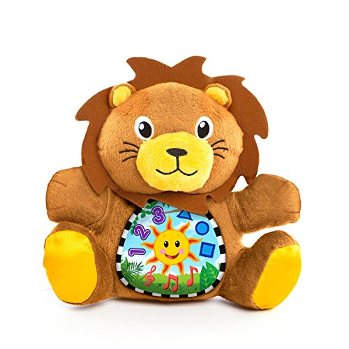 Baby Einstein My Discovery Buddy Lion 3 Languages 5 Classic Melodies (Brown, 1) by KIDS II by Kids II