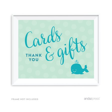 Wholesale Nautical Decor (Cards & Gifts Boy Whale Nautical Baby Shower Party)