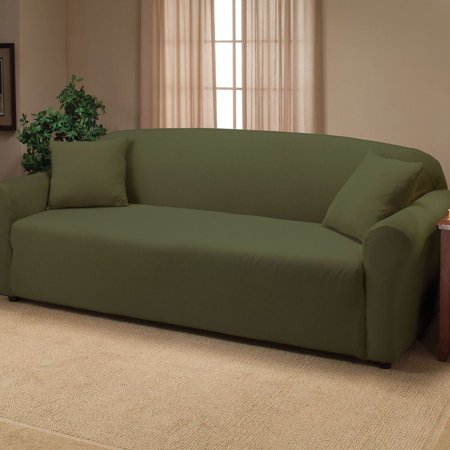 Madison Jersey Slipcover Soft Stretch Form Fitting Sofa